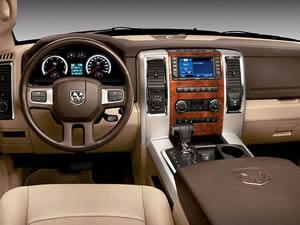hemi ram pickup interior