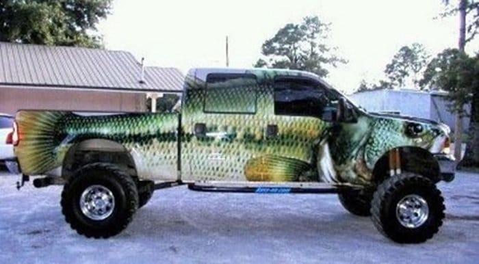 Truck Bass Paint Job