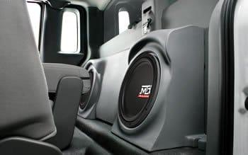 ford f150 regular cab subwoofer enclosure