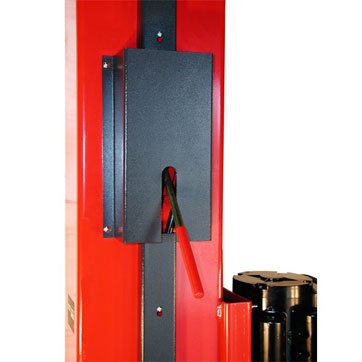 Single Point Lock Release Lever Controls Both Column Locks From One Side