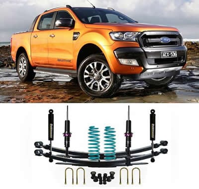 How to Lift a Ford Ranger with a Lift Kit | Pickup World