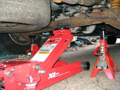automotive floor jacks I own