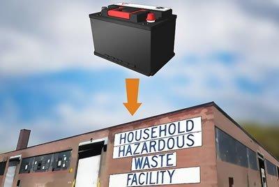 household-hazardous waste disposal