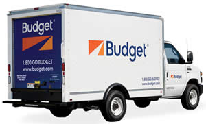 Budget Truck Rental for Moving